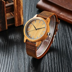 Bamboo Wood Watch - ceas de barbati