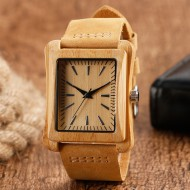 Minimalist Modern Wooden Watch