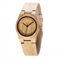 Vintage Luxury Wood Watch - ceas de dama