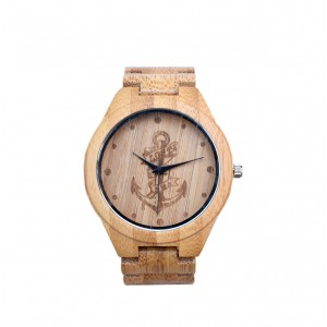 TIBOAT Bamboo Wood Watch - ceas de barbati