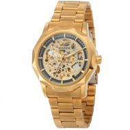 Winner Skeleton Automatic Gold - ceas de barbati