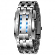 Alien watch binnar LED silver - ceas de barbati