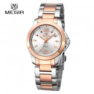Megir 5006L Gold&Silver Luxury Business - ceas de dama