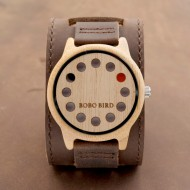 BOBO BIRD  Bamboo Wooden Watch - ceas de barbati