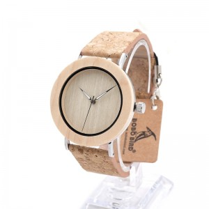 BOBO BIRD Bamboo Wood Men Watch - ceas de barbati