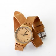 Fashion Bamboo Wooden Watch - ceas de dama