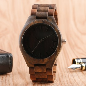 Fashion Bamboo Wood Watch - ceas de barbati