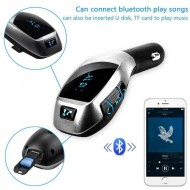 Modulator Bluetooth  X7 Car KIt complet HandsFree Wireless FM