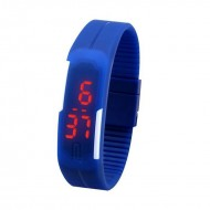 Ceas sport cu led Candy Color din silicon Touch Screen Digital