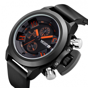 Ceas MEGIR Orange Limited Edition