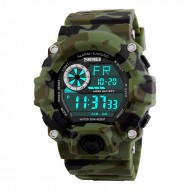 SKMEI Military Chrono Digital LED Sport - Ceas unisex