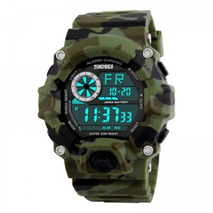 SKMEI Military Crono Digital LED Sport - Ceas unisex